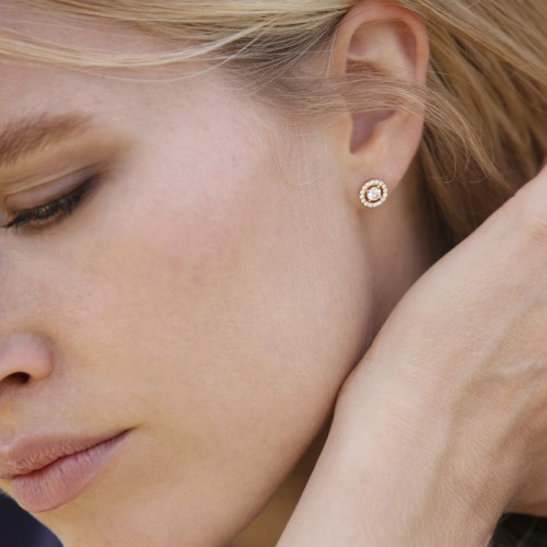 Boucles d'oreilles Eternity