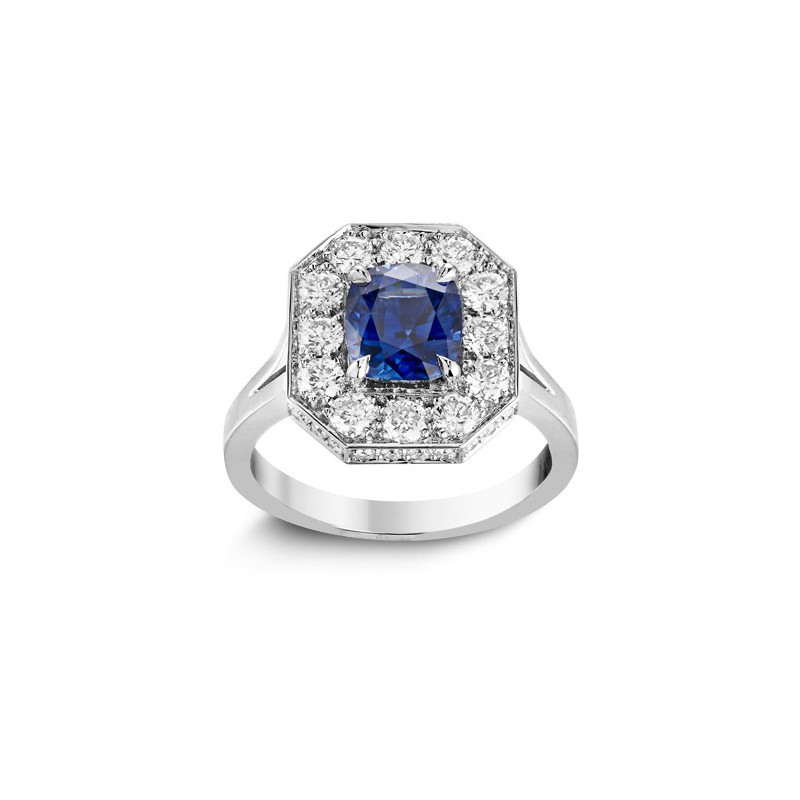 Bague Blue Emeraude