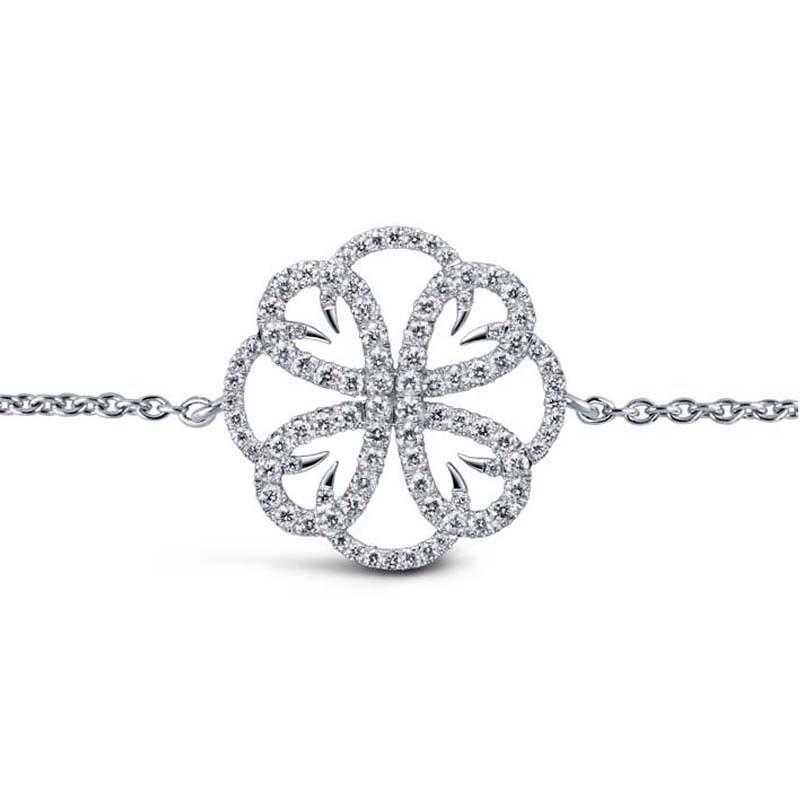 Bracelet Méandre pavé