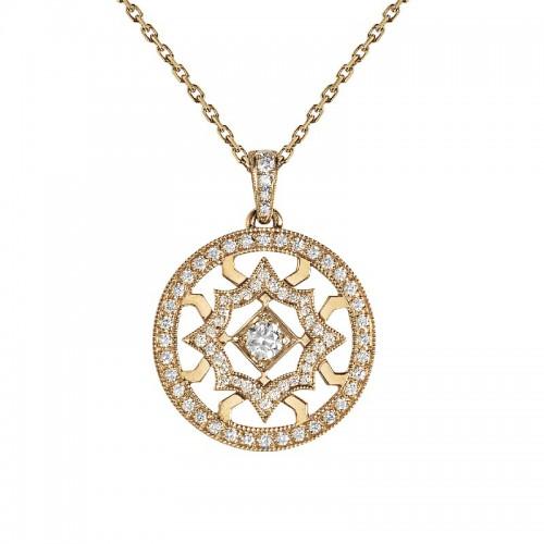 Pendentif Etoile de Méandre diamant