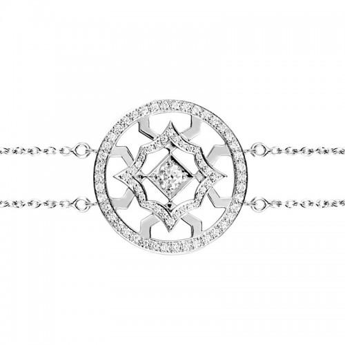 Bracelet Etoile de Méandre diamants