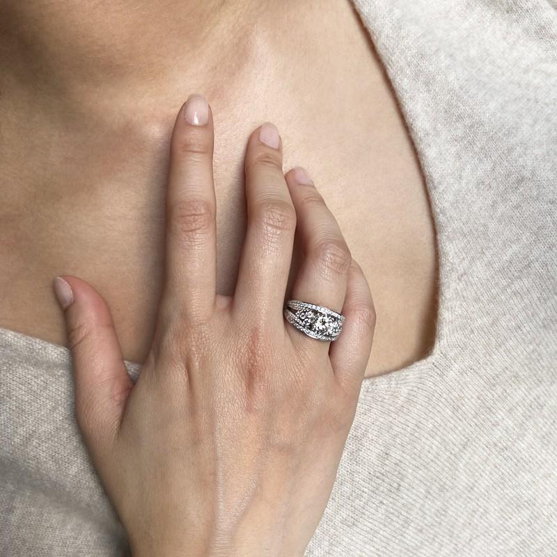Bague Valériane diamant